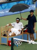 图文-奥运比赛众生相 网球运动员享受王子待遇