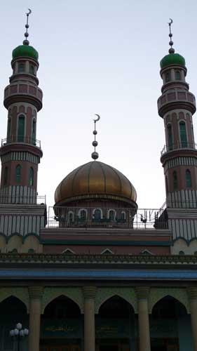 图文-祝福北京塔塔尔族使者评选 洋行清真寺