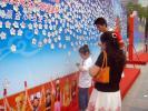 图文-祝福北京使者评选杭州路演 小朋友写下心愿