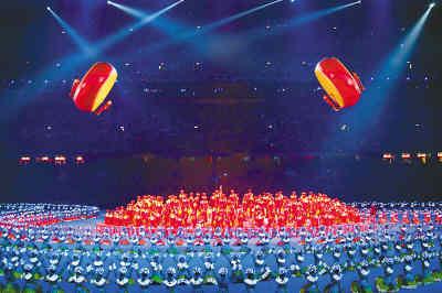 人民日报:这是中国的奥运 这是世界的奥运!