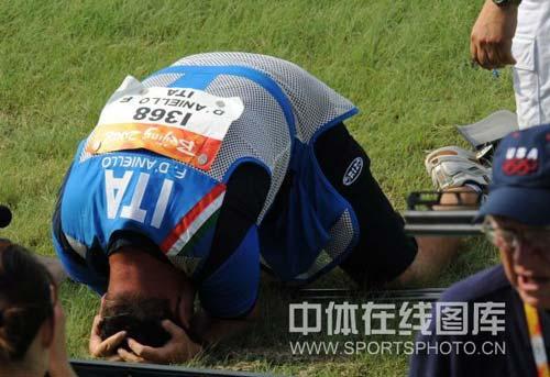 图文-08奥运会射击比赛集锦 激动之情令人感动