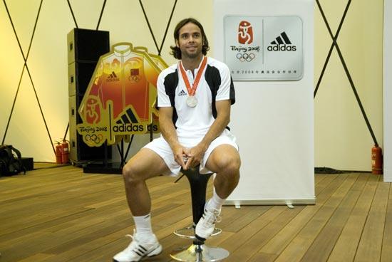 网球男单银牌冈萨雷斯:我凑齐了一套奥运会奖牌
