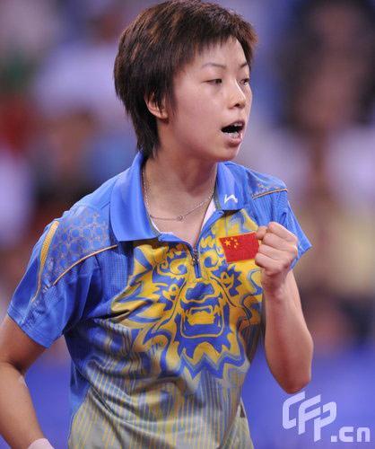 图文-[奥运]女子乒乓球决赛 张怡宁击败王楠夺冠