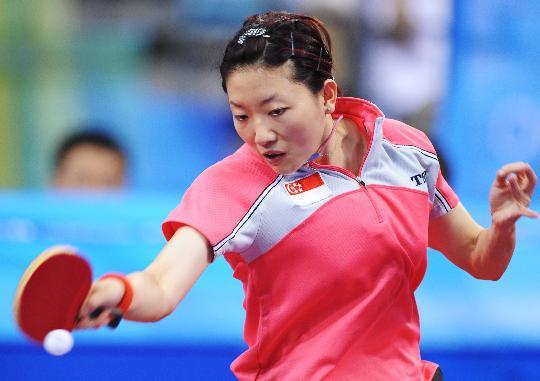 图文-奥运会乒乓球经典瞬间回顾 李佳薇颇具实力