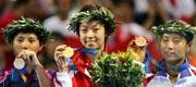 雅典奥运三金逞英豪