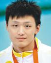 中国男人游水
