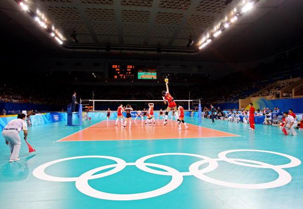 图文-中国女排2-3负美国女排 中国女排征战奥运