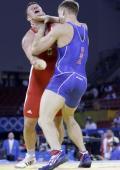 图文-奥运会古典式摔跤回顾 展示中国拳法