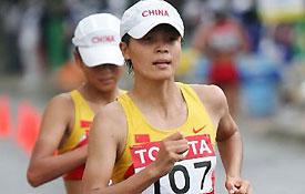 大阪田径世锦赛女子20公里列第15位
