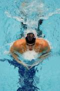 图文-菲尔普斯夺得第六金 水上飞人最后冲刺