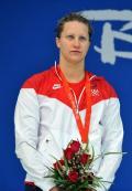图文-女子200米仰泳考文垂破纪录夺冠
