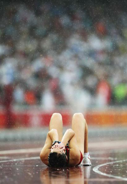 图文-田径女子20公里竞走决赛 白俄罗斯人图拉瓦
