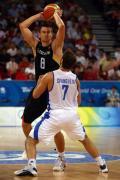 图文-[男篮]希腊87-64德国 斯潘防守全力以赴