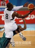 图文-男篮美国116-85澳大利亚 科比势不可挡