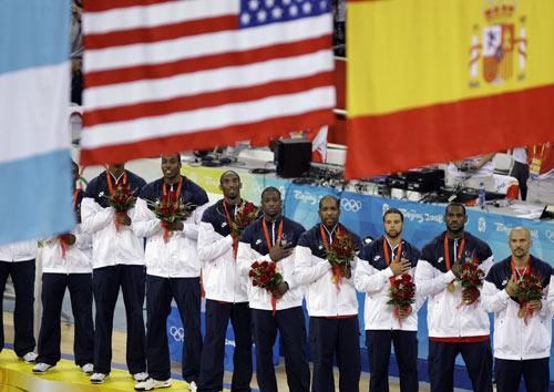 图文-美国男篮118-107西班牙 梦八实现金牌