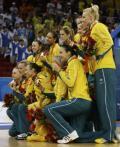 图文-[女篮决赛]美国92-65澳大利亚 澳大利亚队
