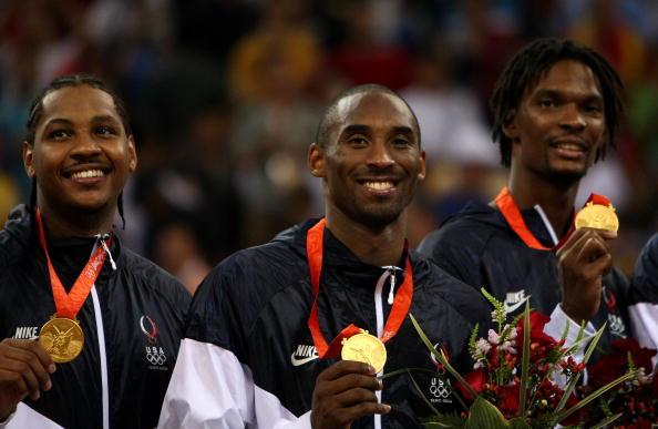 图文-美国男篮战胜西班牙夺金 科比引领美国夺金