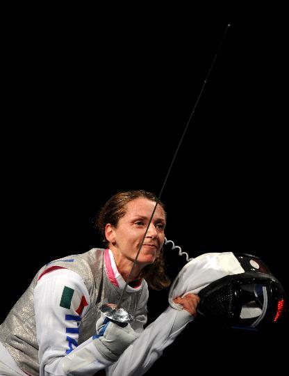 图文-奥运会女子花剑赛况 意大利玛丽亚进入四强