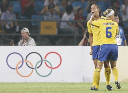 [女足]瑞典2-1加拿大