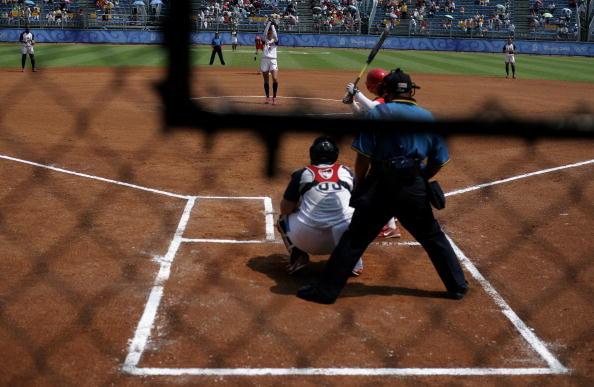 图文-奥运会18日女垒比赛赛况 这个角度观看