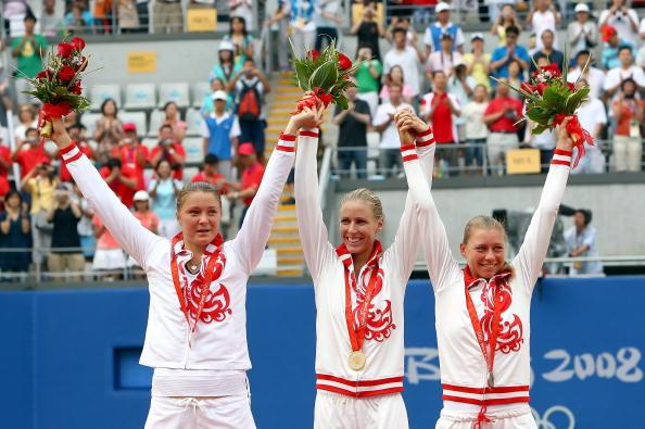 图文-奥运网球女子单打决赛 女单前三实力强劲