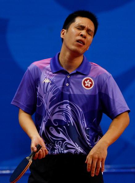 图文-14日奥运会乒乓球赛况 遗憾之情尽写脸上