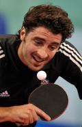 图文-乒乓球男单第二轮开战 希腊选手吉奥尼斯
