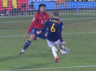 西班牙2-1智利 伊涅斯塔