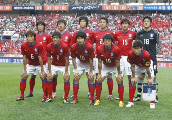 资料图文-韩国国家队队员 汉城世界杯首发阵容