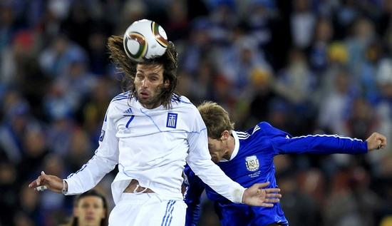 图文-[小组赛]希腊0-2阿根廷萨马类似乃制高点