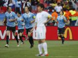 乌拉圭队异常兴奋