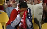 美国球迷痛哭
