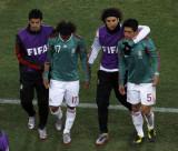 墨西哥球员伤心
