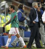 墨西哥球员离场