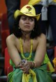 巴西女球迷落泪