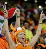 荷兰球迷呼喊