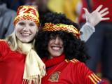 西班牙球迷开心