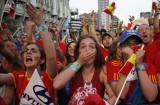 西班牙球迷欢呼