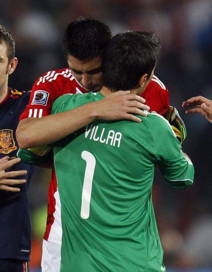 图文-[1/4决赛]巴拉圭0-1西班牙想开点吧