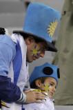 乌拉圭父子球迷失落