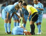 询问球员伤情