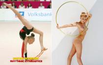 德国艺术体操90后辣妹写真