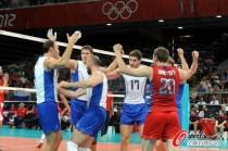 男排半决赛俄罗斯晋级