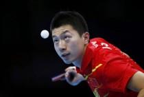 男乒团体中国胜德国晋级