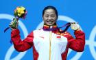 李雪英以246公斤的总成绩夺冠