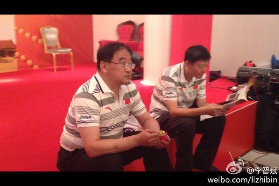 韦迪参观中国之家