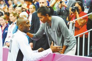 奥巴马夫人拥抱美国男篮网友为抗梦十出怪招