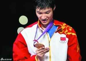 奥运金牌,还是挺漂亮的。