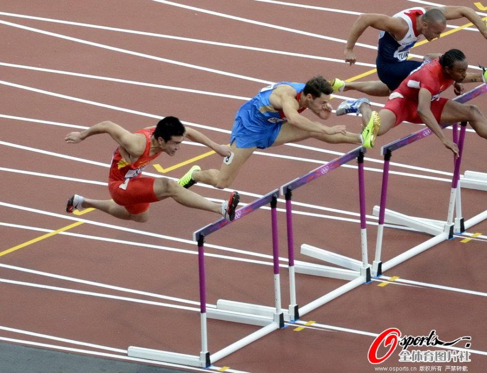 110米栏半决赛谢文骏无缘晋级