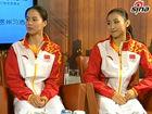 视频-黄珊汕何雯娜做客《冠军面对面》 谈爱好